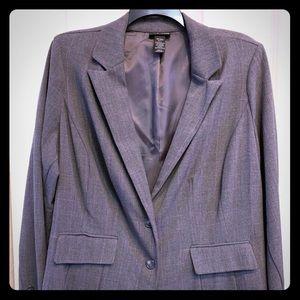 LB Soft Gray Blazer